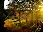Il giardino che circonda l'agriturismo